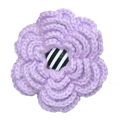 Hand-Crocheted Lavender Bloom for her