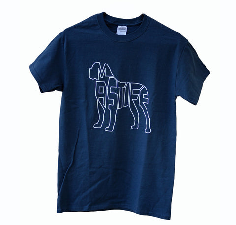Mastiff T-Shirt - Blue