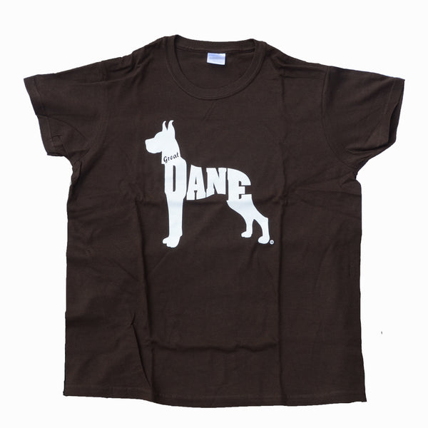 """Women's Great Dane T-Shirt - Brown"" - limited supply"