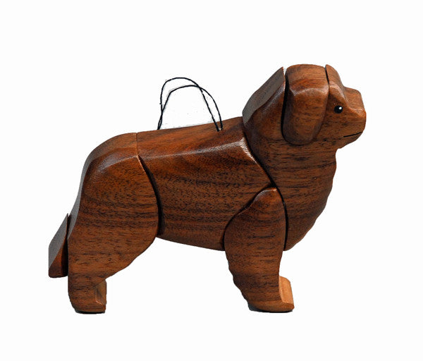 Newfoundland 3-D Wood Art Ornament - Limited