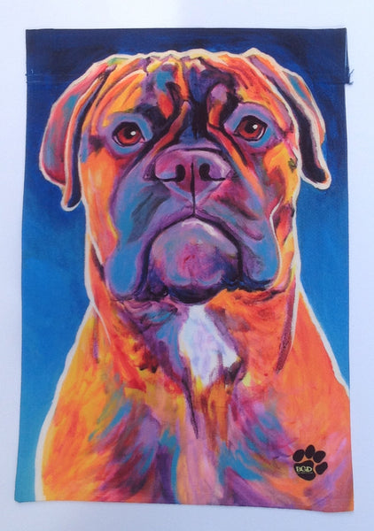 Bullmastiff #2- Garden Sized Flag