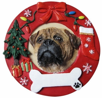 Hand Painted Ornament - BULLMASTIFF