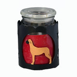 Great Dane Jar Candle Wrap - Fawn