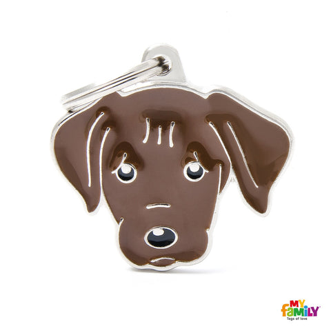 Labrador Chocolate Tag