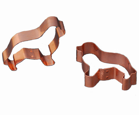 Copper Newf Cookie Cutter