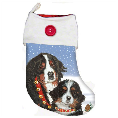 Bernese Christmas Stocking