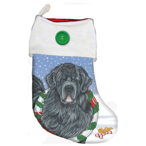Newf Christmas Stocking