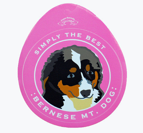 Simply The Best Bernese Sticker