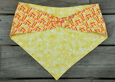 2 sided, adjustable quick snap bandana 2XL