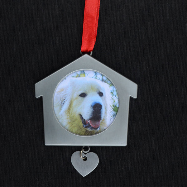 Pet Photo Ornament (insert your own pic)