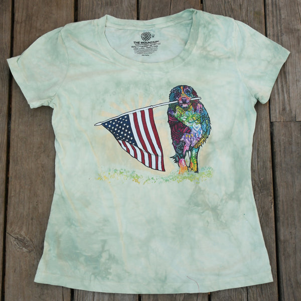 Patriotic Pup Women's Tee