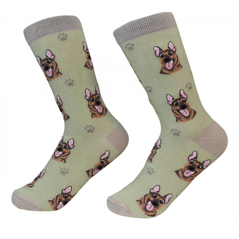 """German Shepherd Socks"""