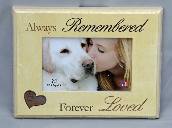 Always Remembered, Forever Loved - Picture Frame