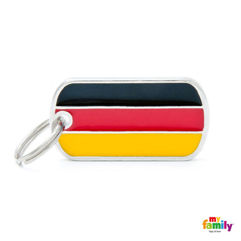 Germany Flag Tag