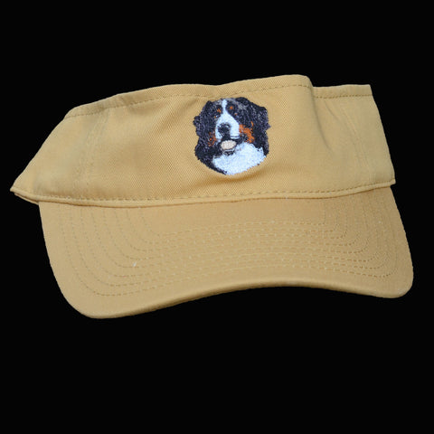 Embroidered Bernese Visor - Dandelion
