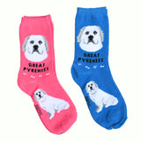 """Foozys Great Pyrenees Socks"" - one size fits most"