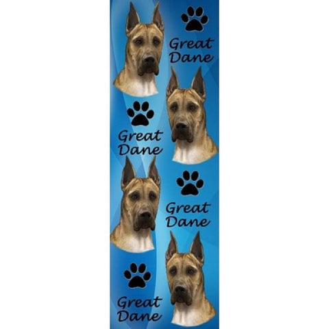 Great Dane - Fawn, Bookmark