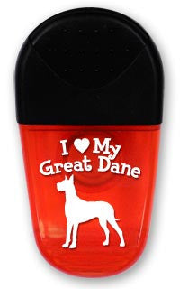 I ♥ My Great Dane! Gator Clip
