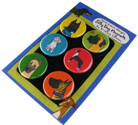 Silly Dog Great Dane Magnet Set