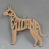 Great Dane Wooden Puzzle Ornament*