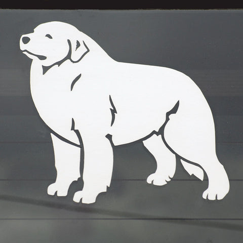 Pyrenees Decal for Tinted Window