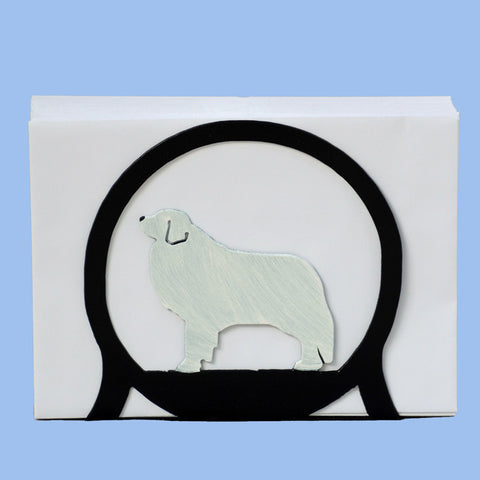 Pyrenees Napkin/Letter Holder