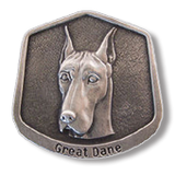 Pewter Great Dane Ornament