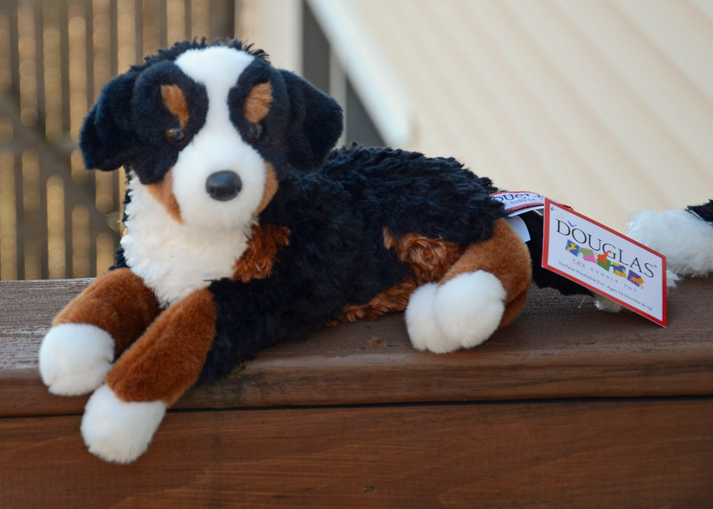 Grizzly Bernese Mountain Dog Plush Toy Big Gentle Dogs