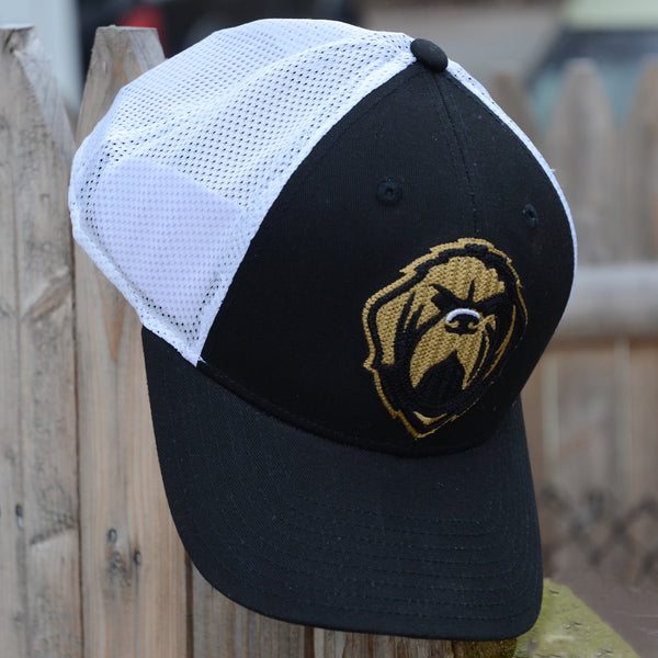 Growlers adjustable mesh cap - black/white