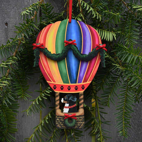 Holiday Balloon with Bernese Ornament
