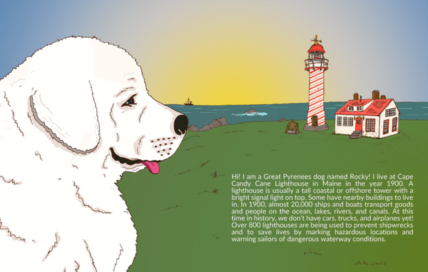 """Rocky and Splash's First Lighthouse Dog Adventure - NEW 2020"""