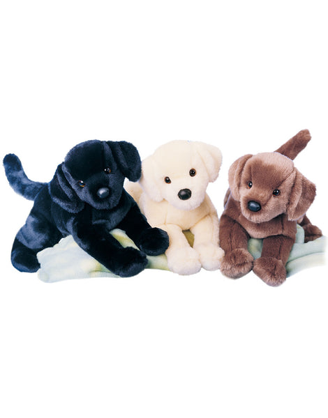 Chester Black Lab Plush Toy