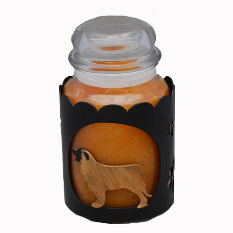 Leonberger Jar Candle Wrap