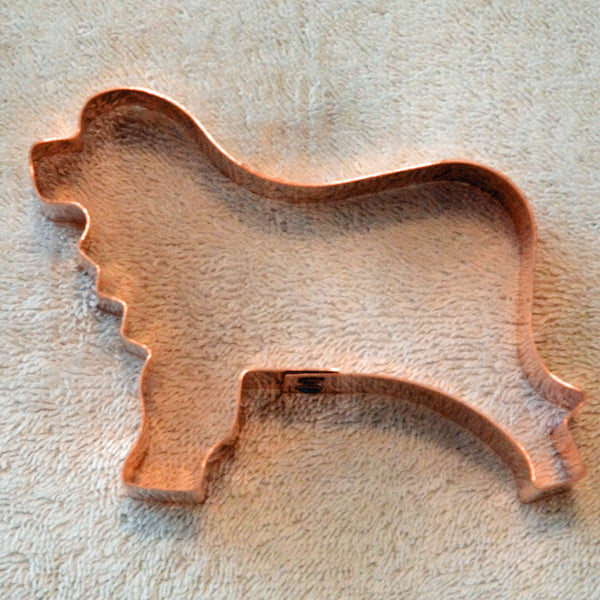 Copper Leonberger Cookie Cutter