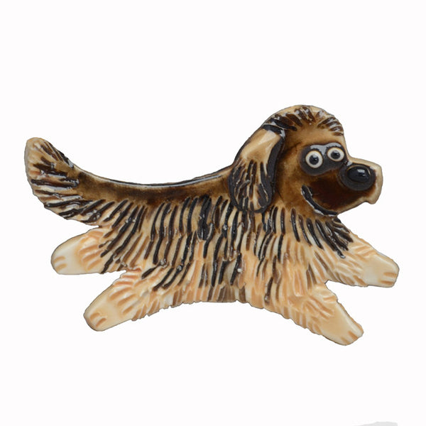 Ceramic Leonberger Pin