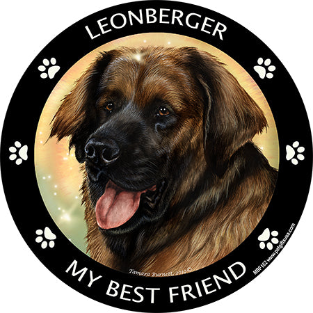Leonberger my best friend - Magnet
