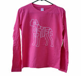 """Women's Cut Long Sleeve MASTIFF Tee"""