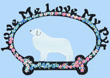 Love Me, Love My Pyr - Metal Sign