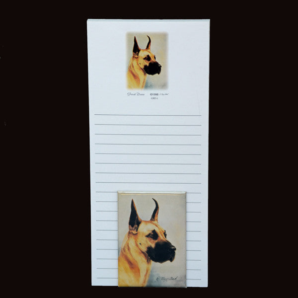 Great Dane List Pad w/Magnet