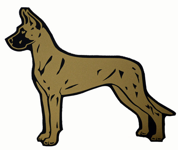Great Dane Fawn- Decal