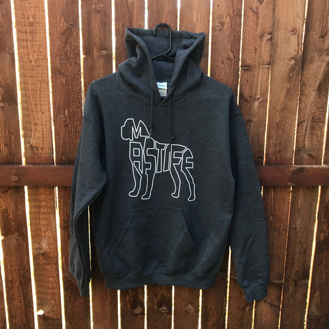 """Mastiff Hoodie Dark Heather"""