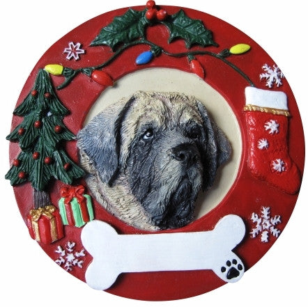 Hand Painted Ornament - MASTIFF