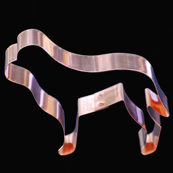 Copper Mastiff Cookie Cutter