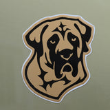 """Full Color Mastiff Head Decal"""