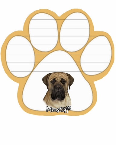 Mastiff Magnetic Note Pad