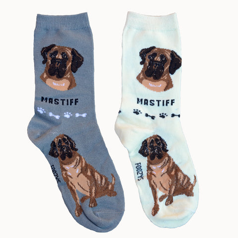 """Foozys Mastiff Socks"" - one size fits most"