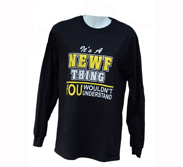 It's A NEWF thing... Long Sleeved Tee (discontinued)