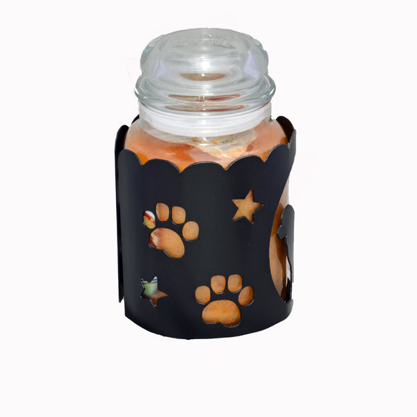 Newfoundland Jar Candle Wrap - Brown