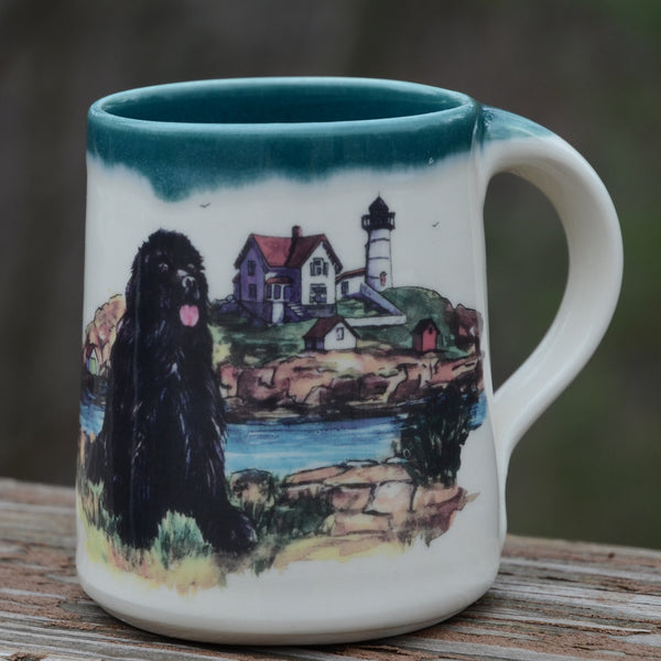 Handmade NEWF Coffee/Tea Mug