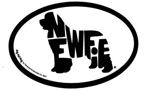 Newfie Sticker